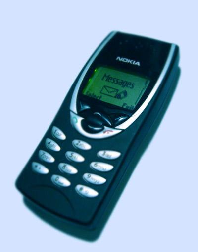 Imagens de telemóveis antigos - Nokia 8210