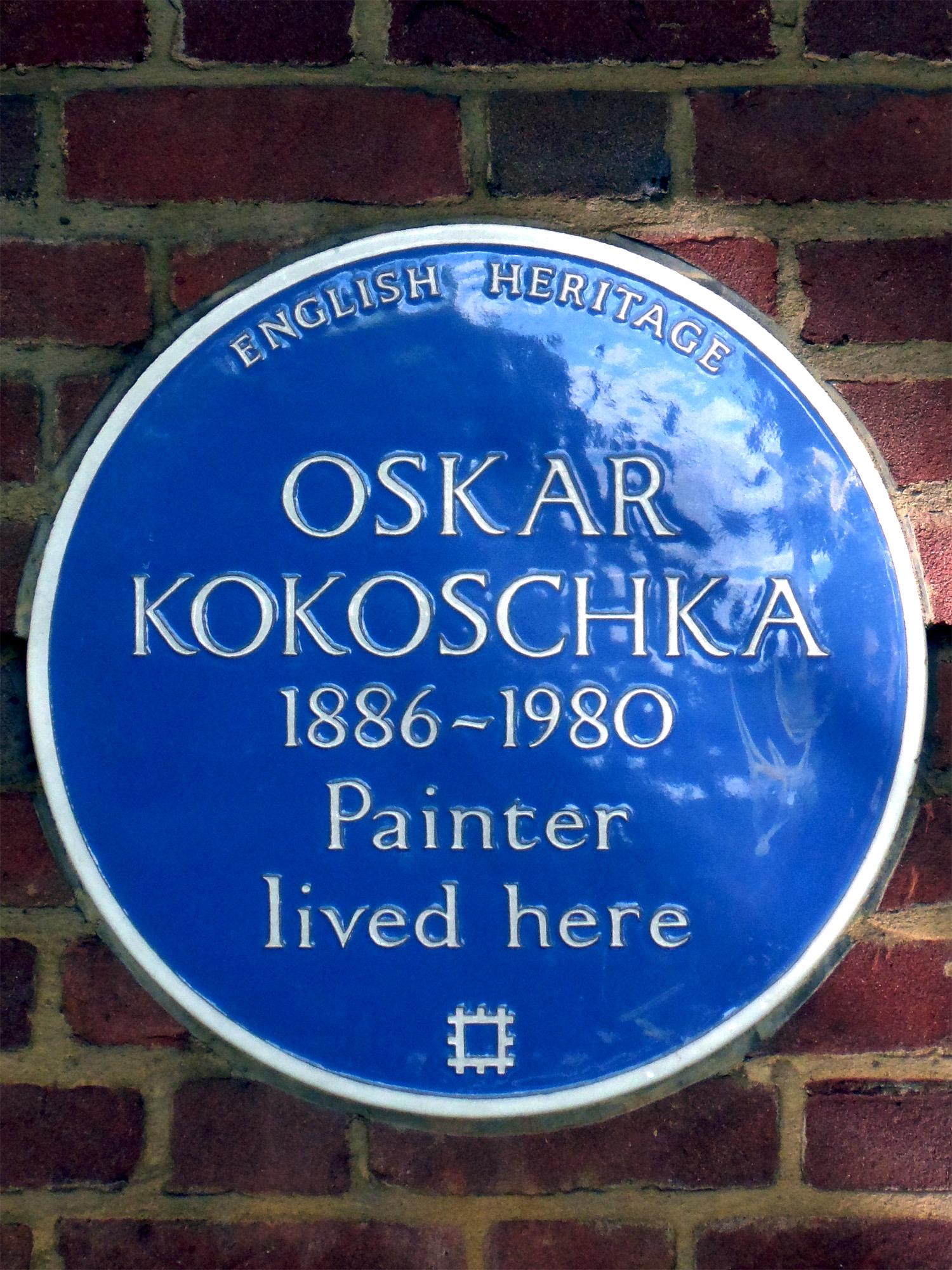 Fileoskar Kokoschka 1886 1980 Painter Lived Herejpg