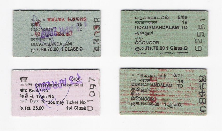 NMR issues old style tickets, keeping in line with the World Heritage Site status.