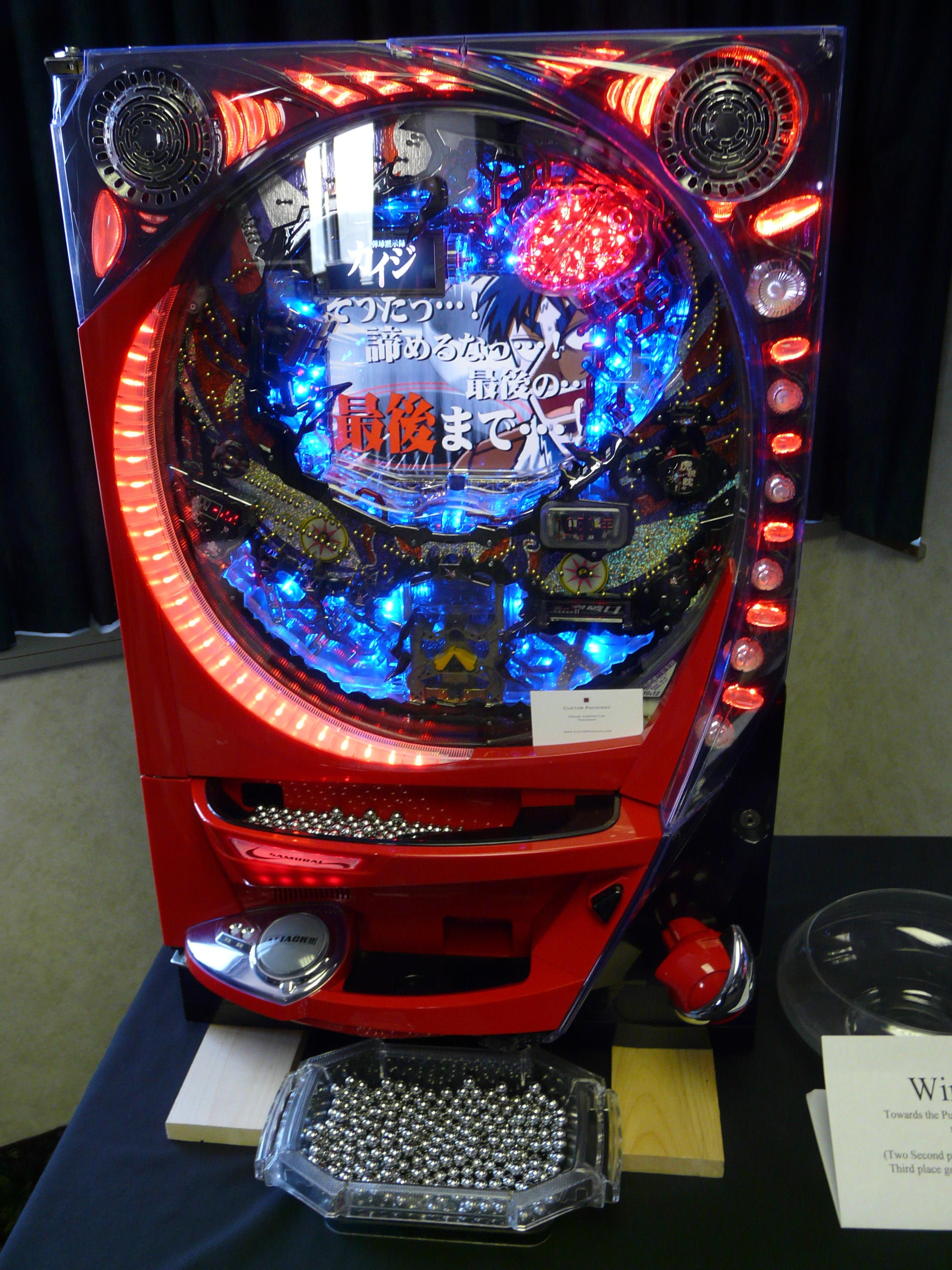 pachinco machine