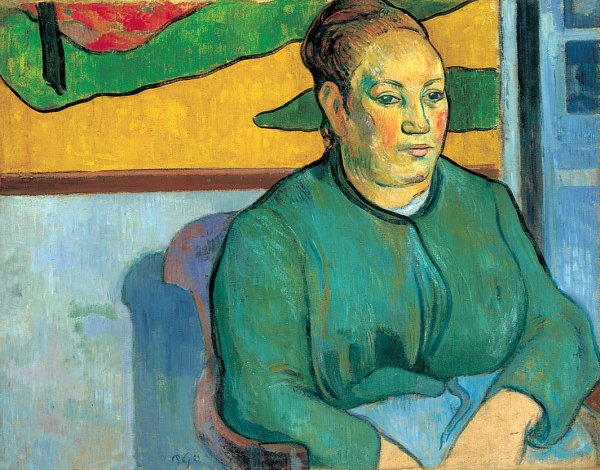 Portrait of Madame Roulin, by Paul Gauguin.