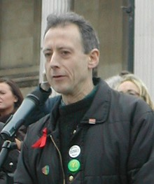 Human rights activist Peter Tatchell