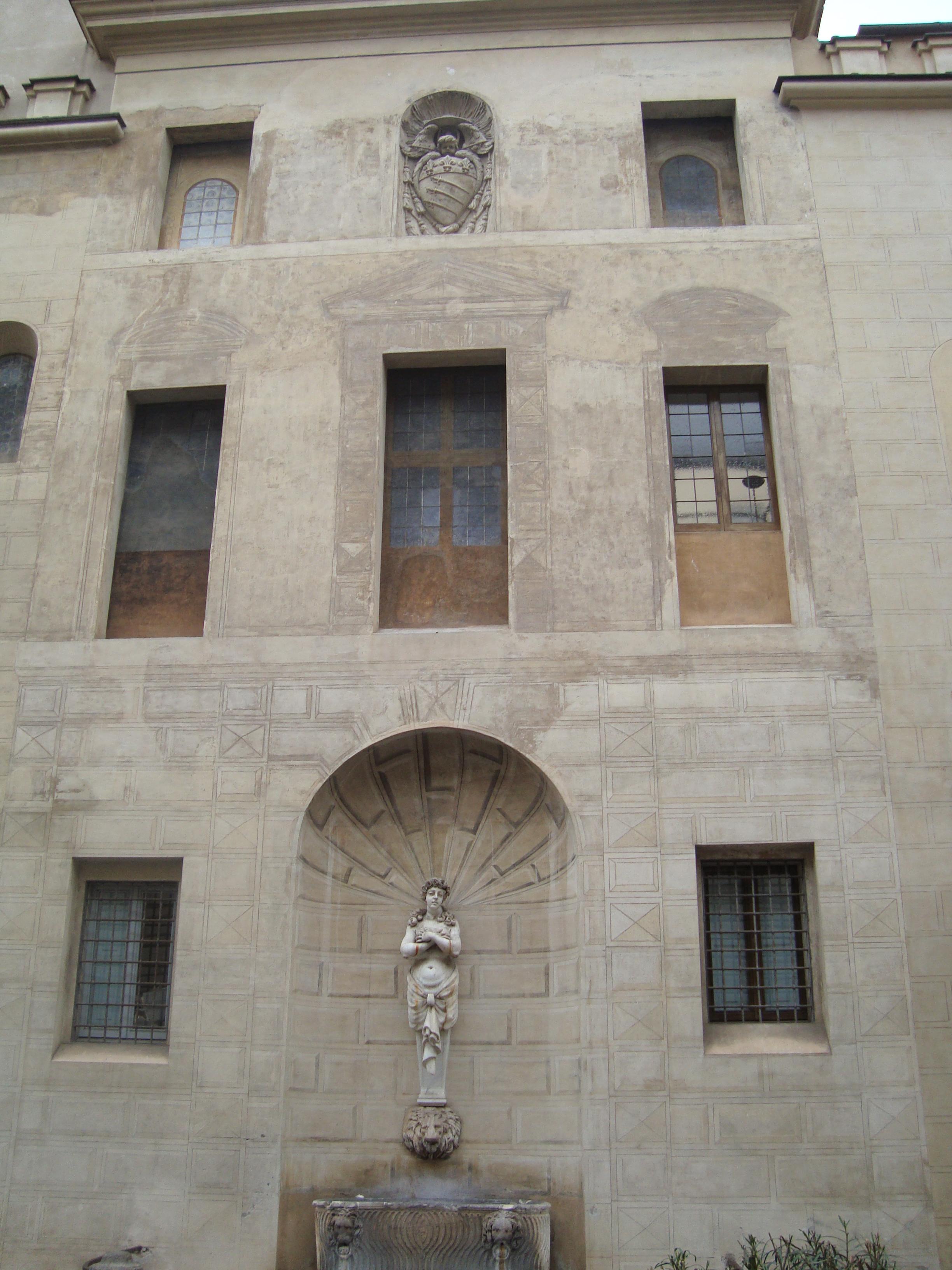 File Piazza Capo Di Ferro Roma 02 Jpg Wikimedia Commons