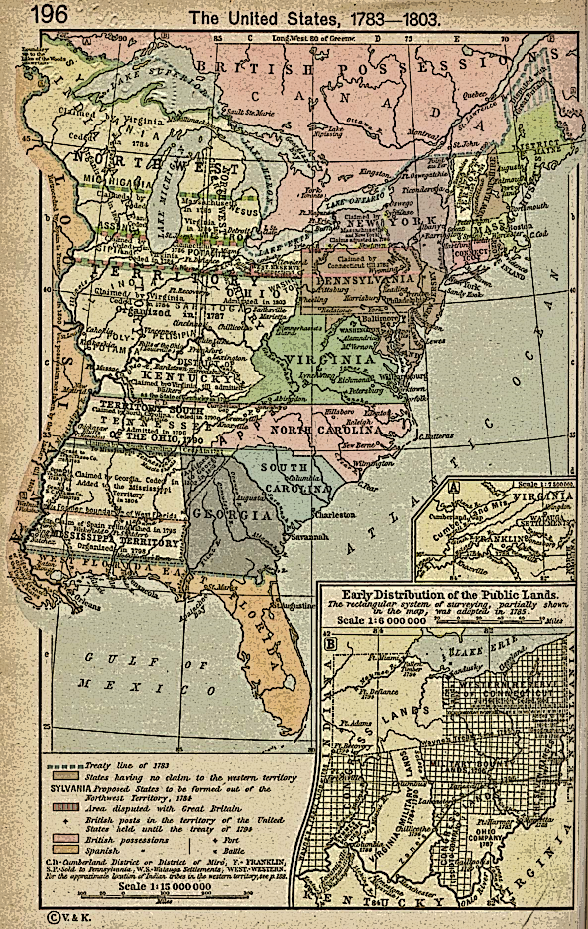History Of The United States Wikiwand - Us map in 1776
