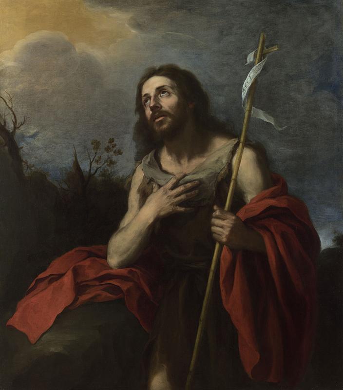 File:Probably by Bartolomé Esteban Murillo - Saint John the Baptist in the  Wilderness, 1660-70.jpg - Wikimedia Commons