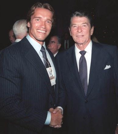 Arnold & Reagan