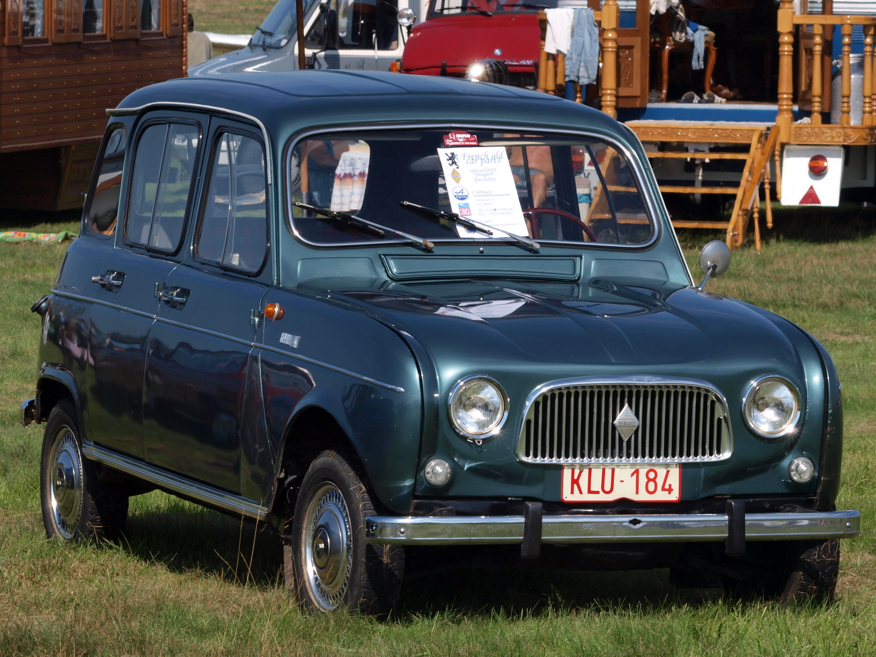 Occasion : Renault r4  TooPs