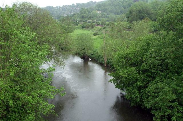 River Avon from Dundas Aqueduct - geograph.org.uk - 178547