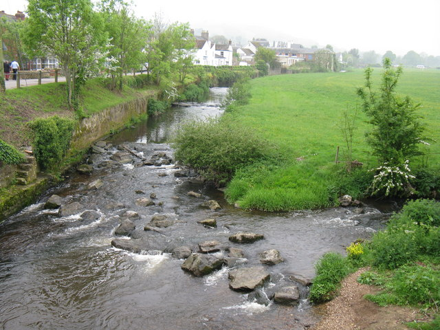 River Coly at Colyton - geograph.org.uk - 866332