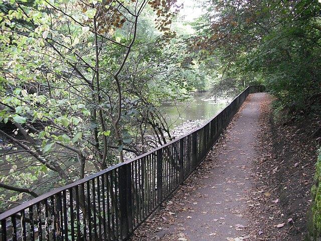 River Kelvin Walkway - geograph.org.uk - 1516176