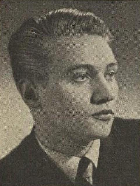 Rudolf Hrušínský in 1941
