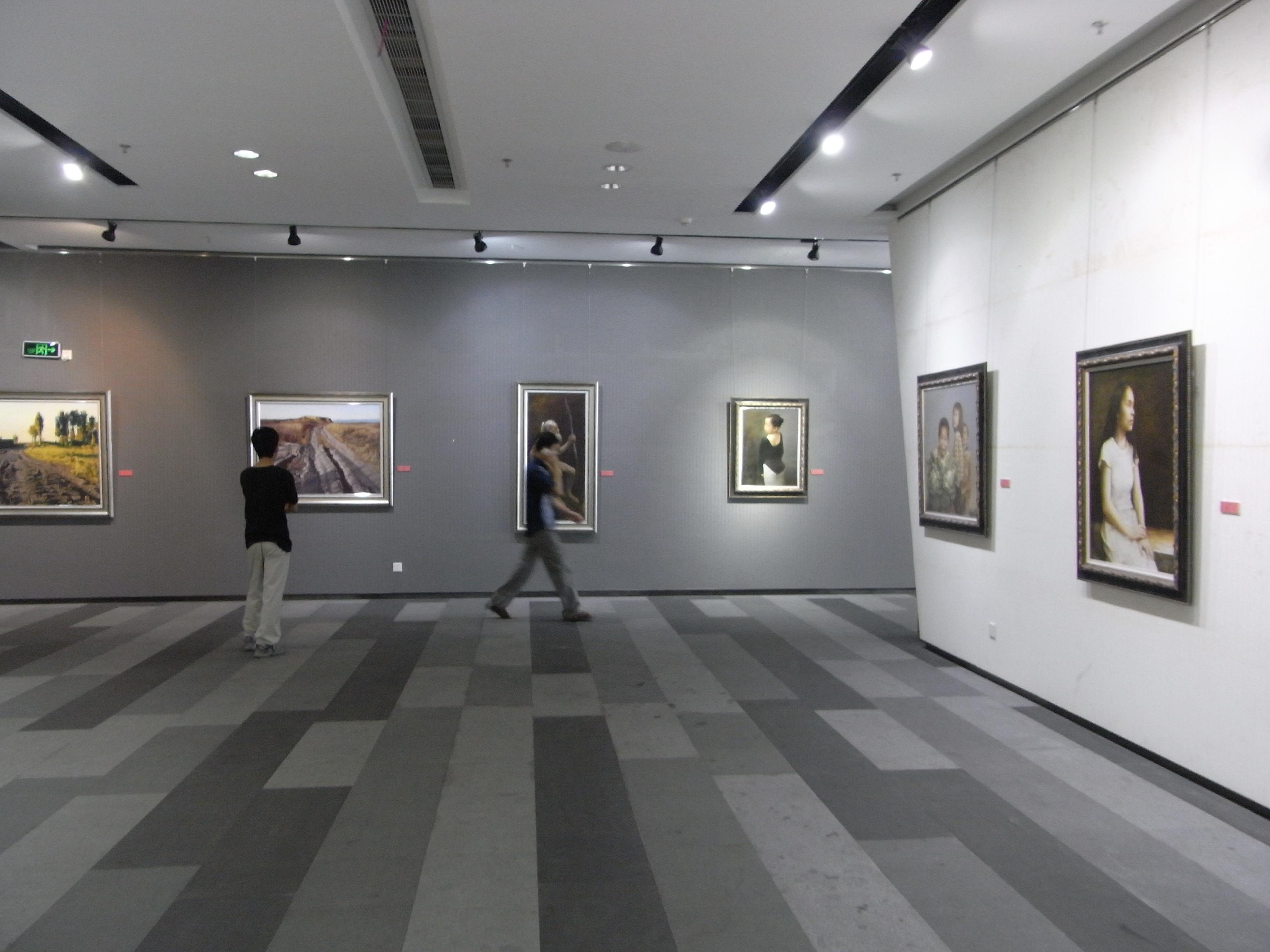 Art In Paradise D Exhibition Hall : File sz 深圳 大芬油畫村 da fen oil painting village art gallery