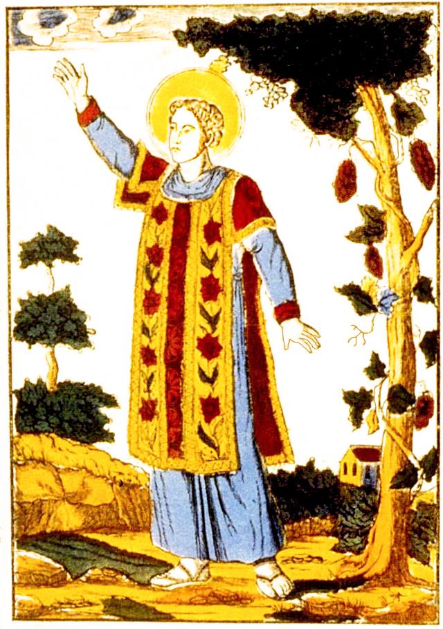 file saint vincent patron des vignerons estampe dit e par jp clerc belfort entre 1830 et 1836. Black Bedroom Furniture Sets. Home Design Ideas