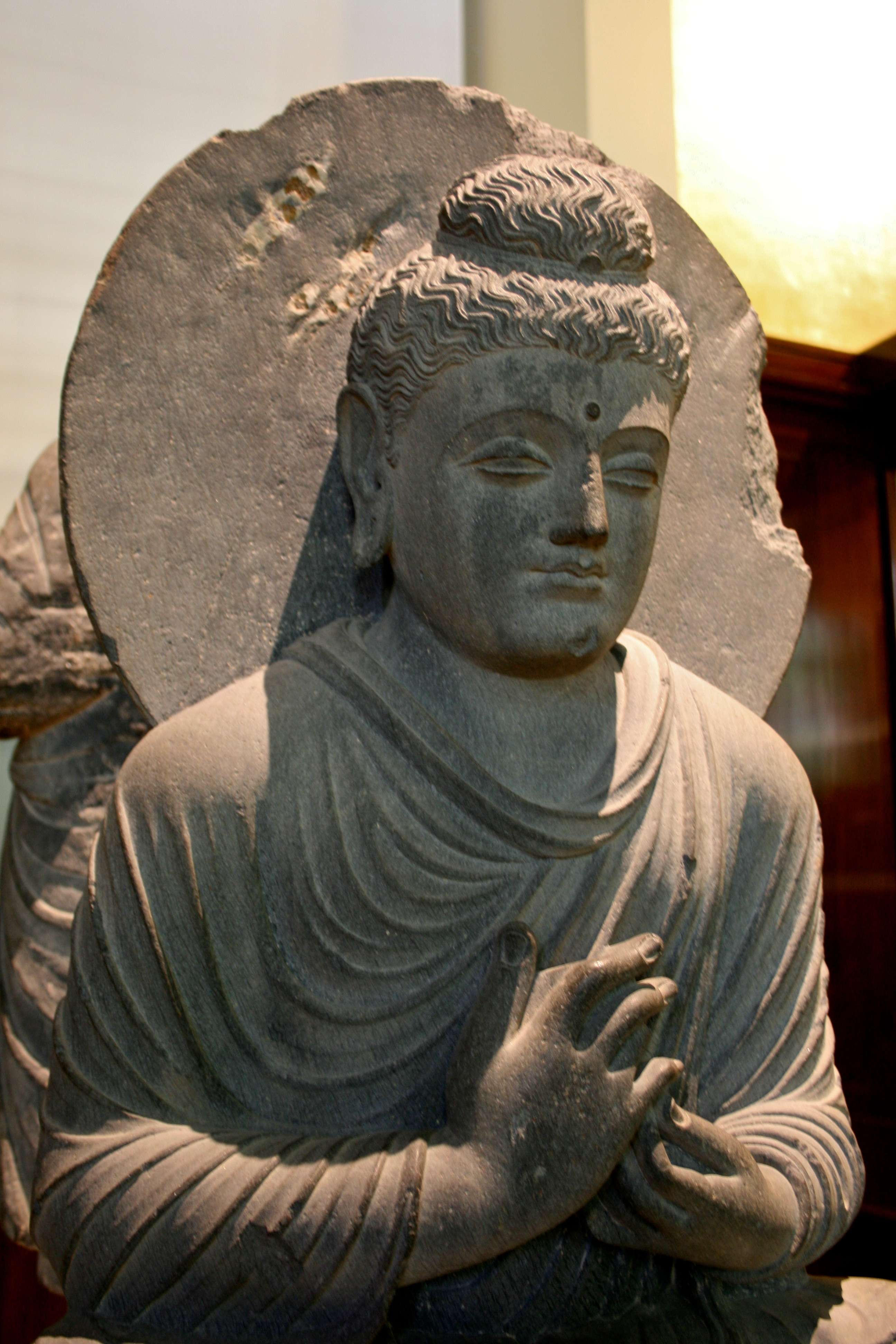 Seated Buddha From Gandhara Wikipedia
