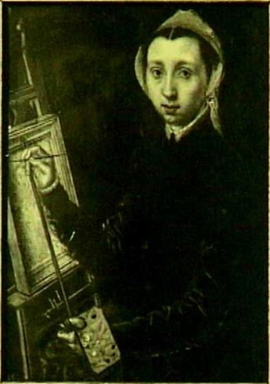 Autoritratto (1548) di Caterina van Hemessen