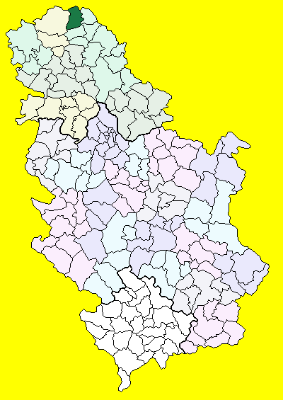 kanjiza mapa Kanjiža (općina)   Wikiwand kanjiza mapa