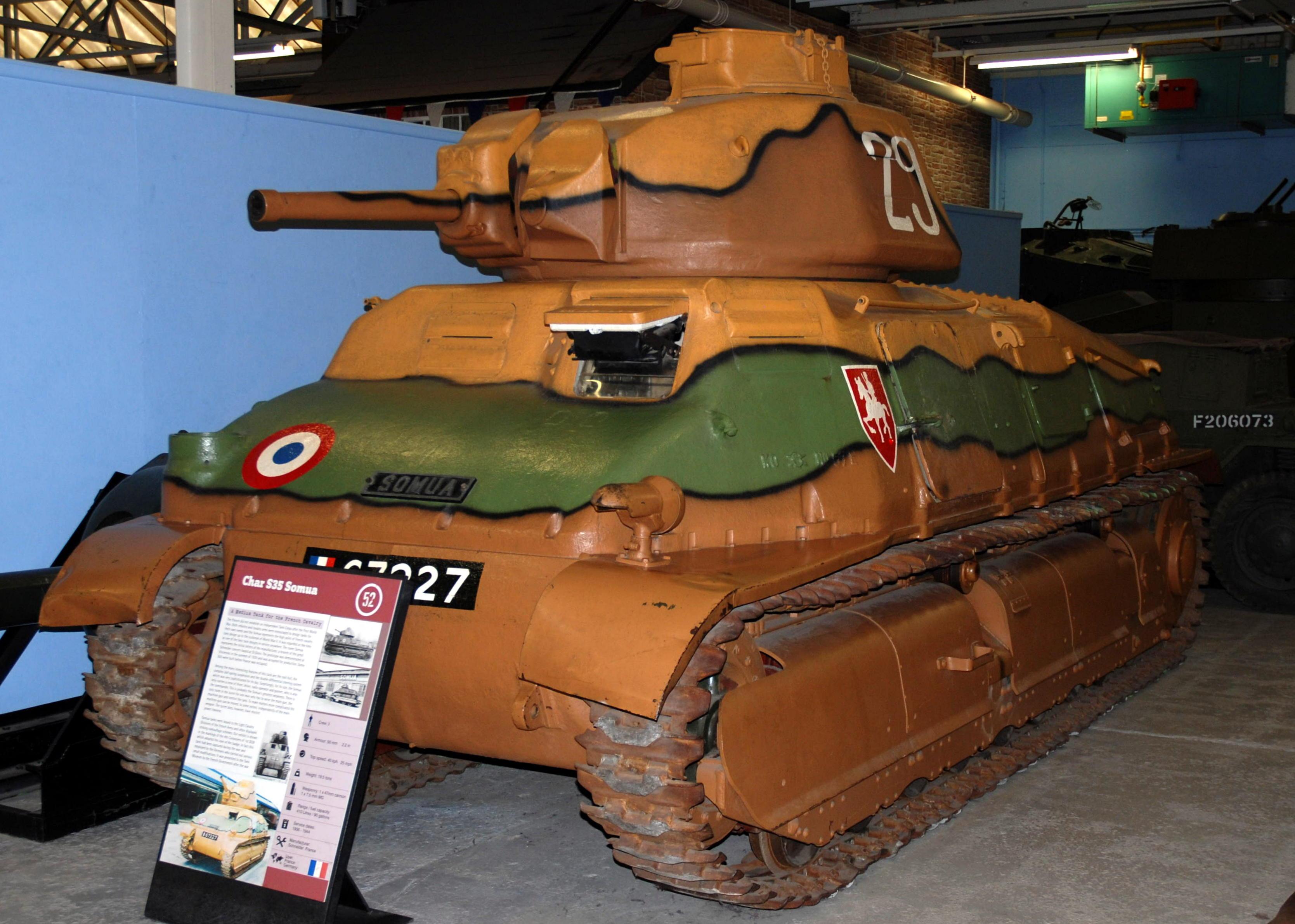 File:Somua S35 Tank, T...