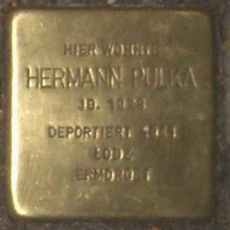 Stolperstein Bernstorffstr 99 Hermann Pulka.jpg