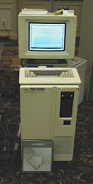 Symbolics 3640 - a first-ever company computer that registered a first-ever domain name