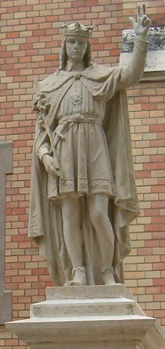 Statue av Emerik i Máriaremete, en bydel i Budapest