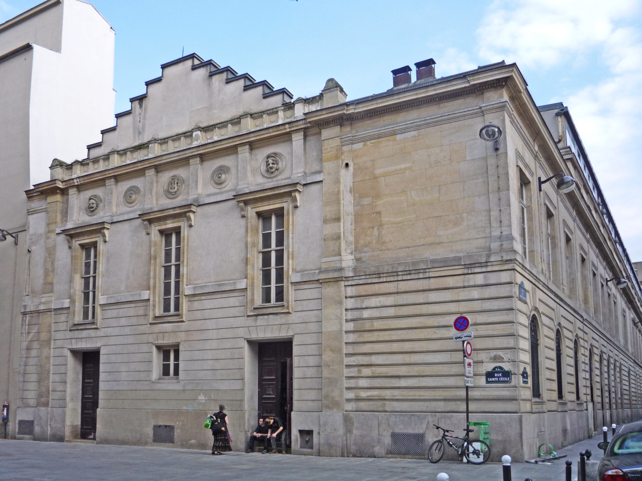 Parte del Conservatorio de París, donde Bizet estudió desde 1848 hasta 1857 (fotografía de 2009).