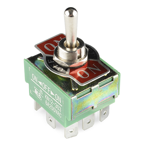 Toggle Switch - 3PDT