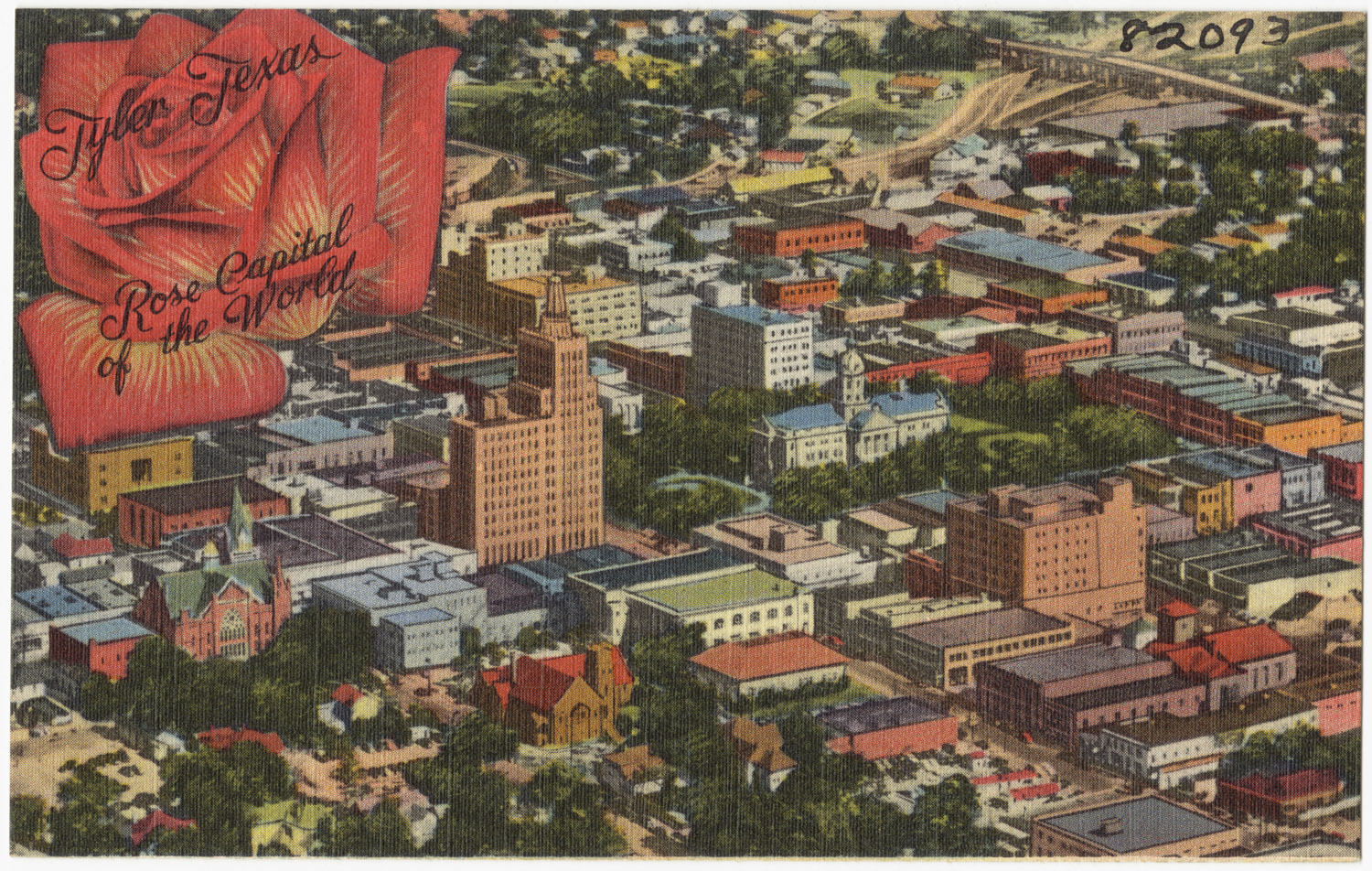Tyler (TX) United States  City pictures : Description Tyler Texas, rose capitol of the world