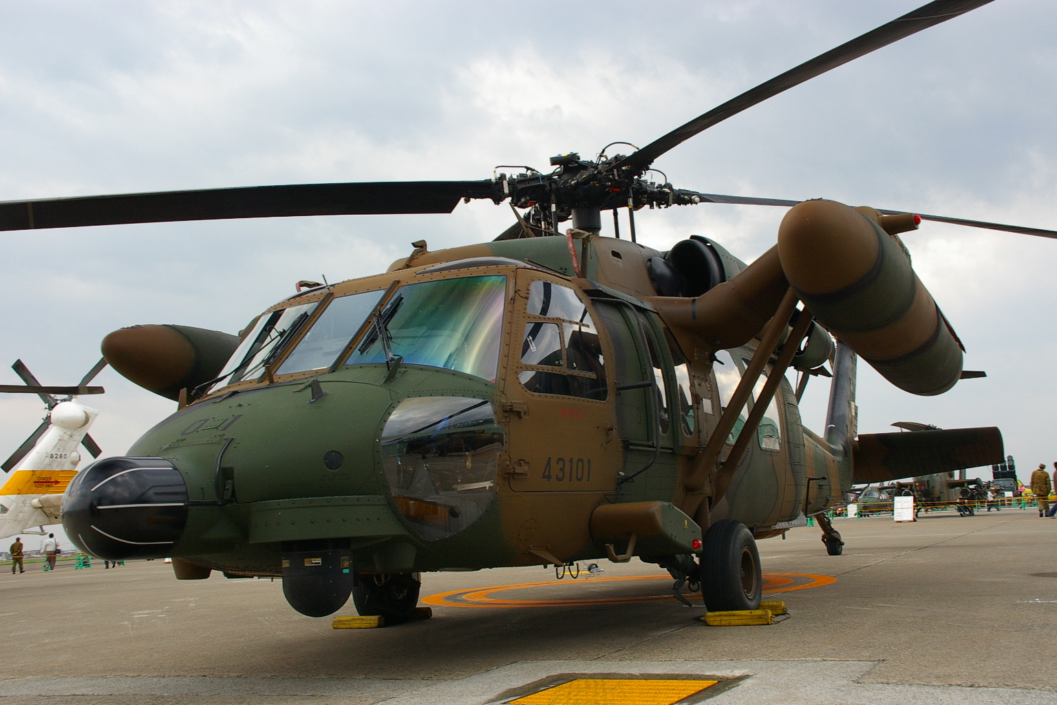 Uh 60j for Porte helicoptere