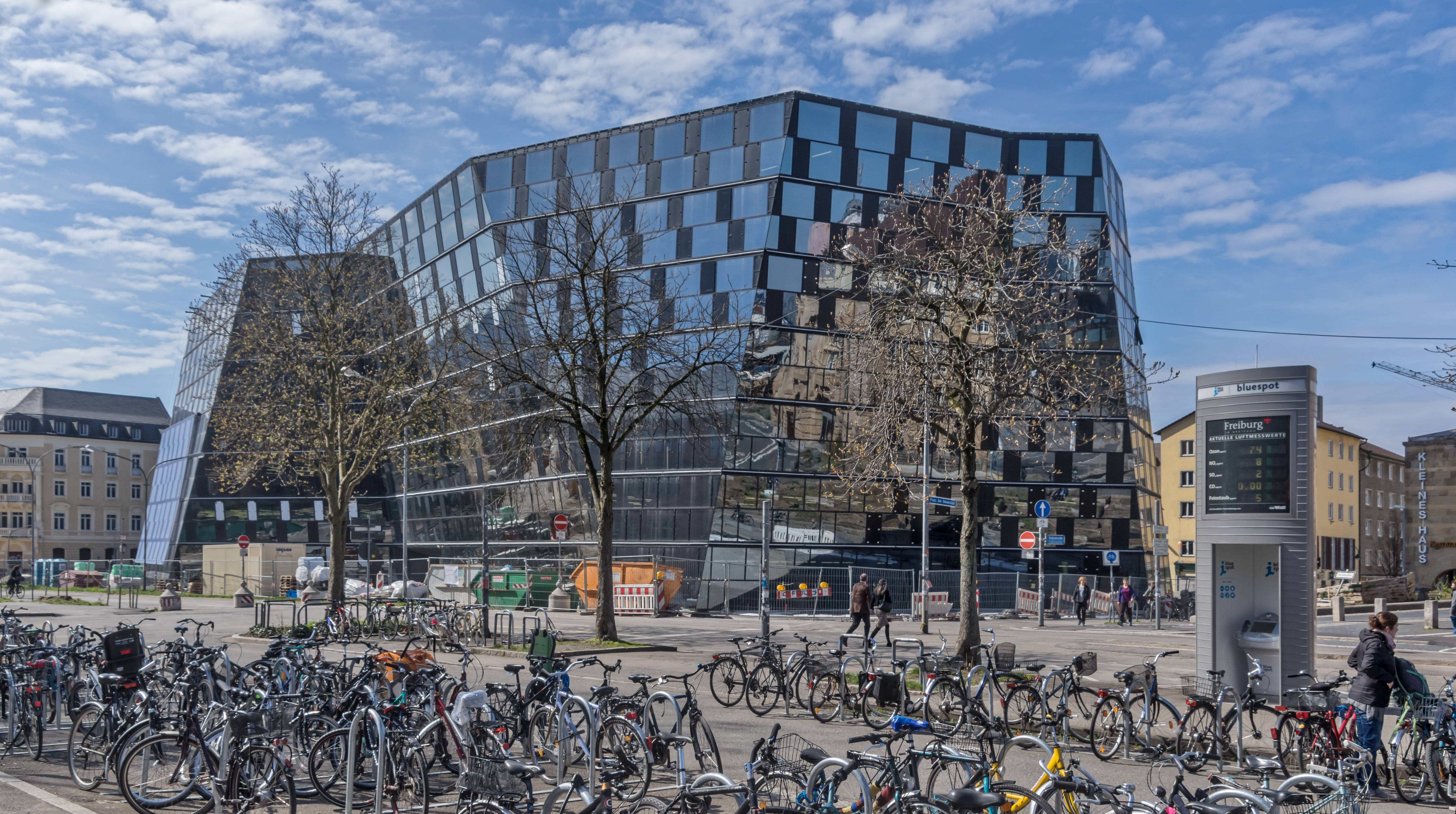 Die neue Universitätsbibliothek Freiburg
