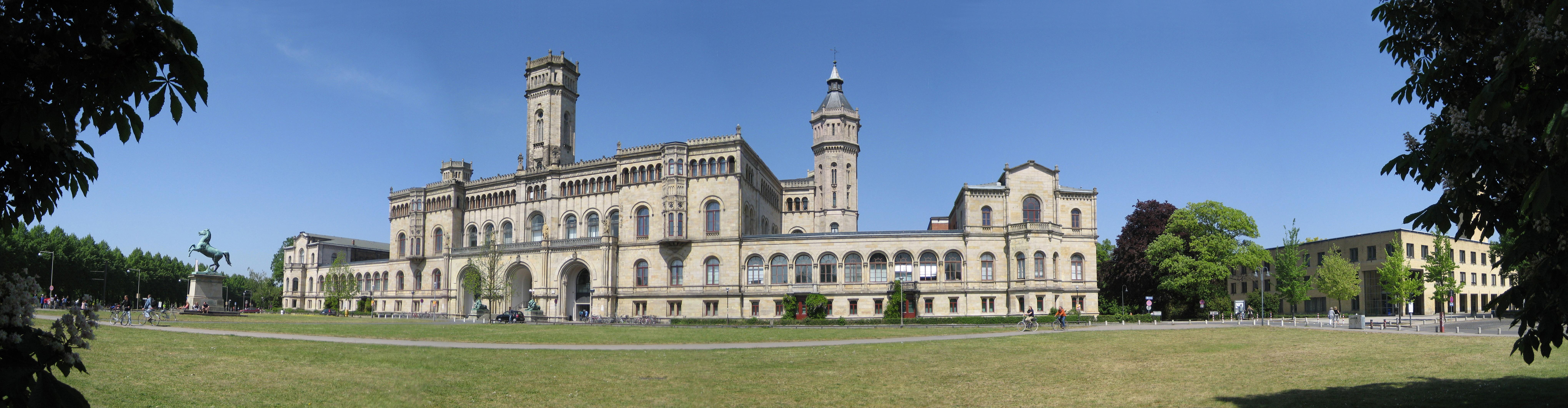 Description universität hannover hauptgebäude b