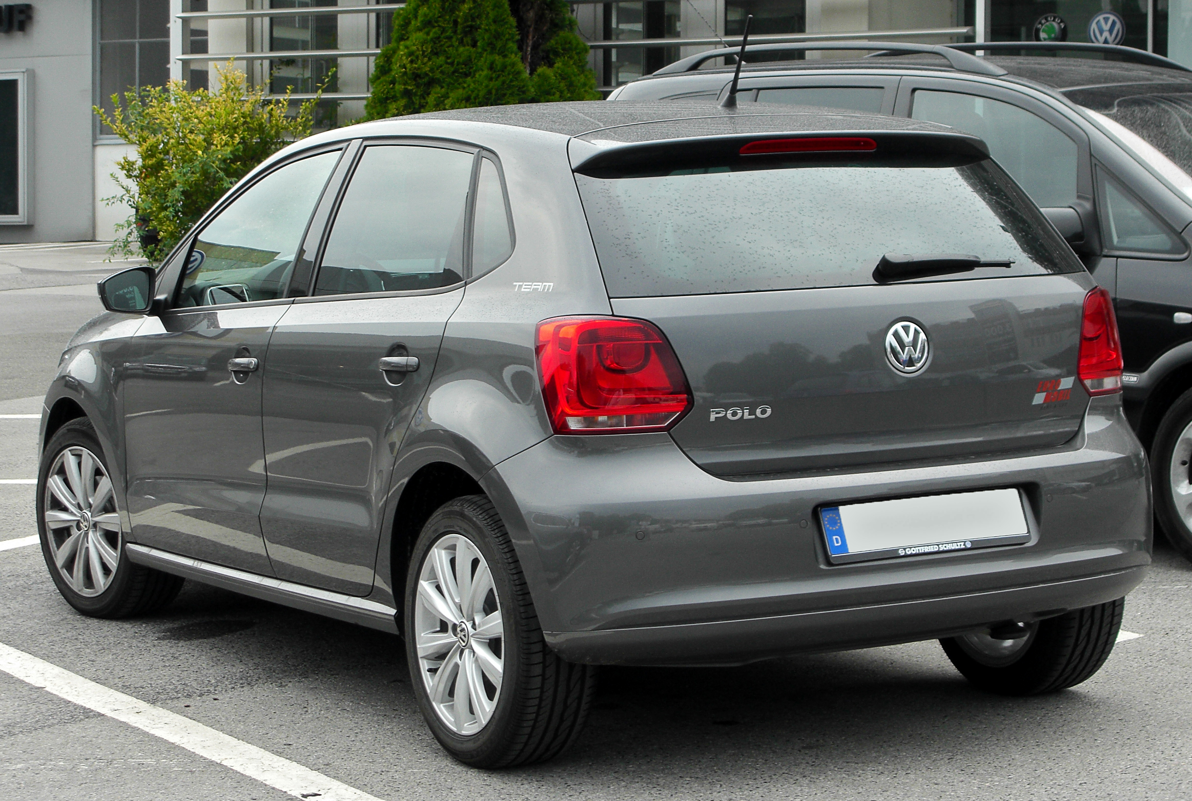 Polo V : file vw polo v team rear ~ Gottalentnigeria.com Avis de Voitures