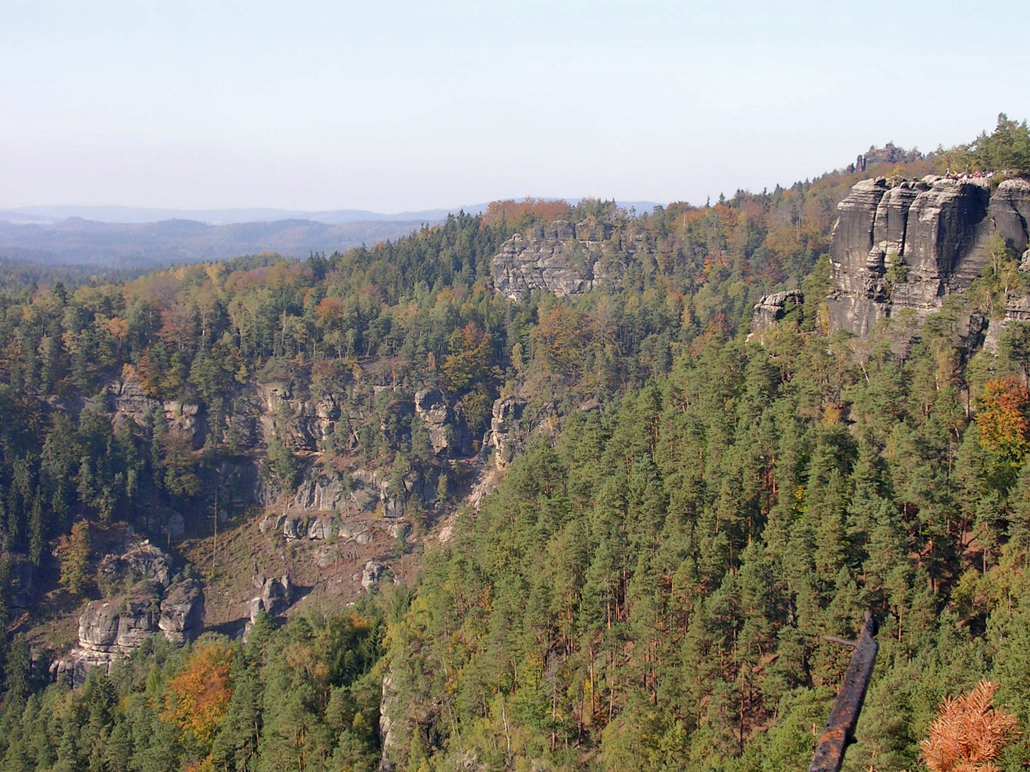 Bohemian Switzerland, the Czech Republic