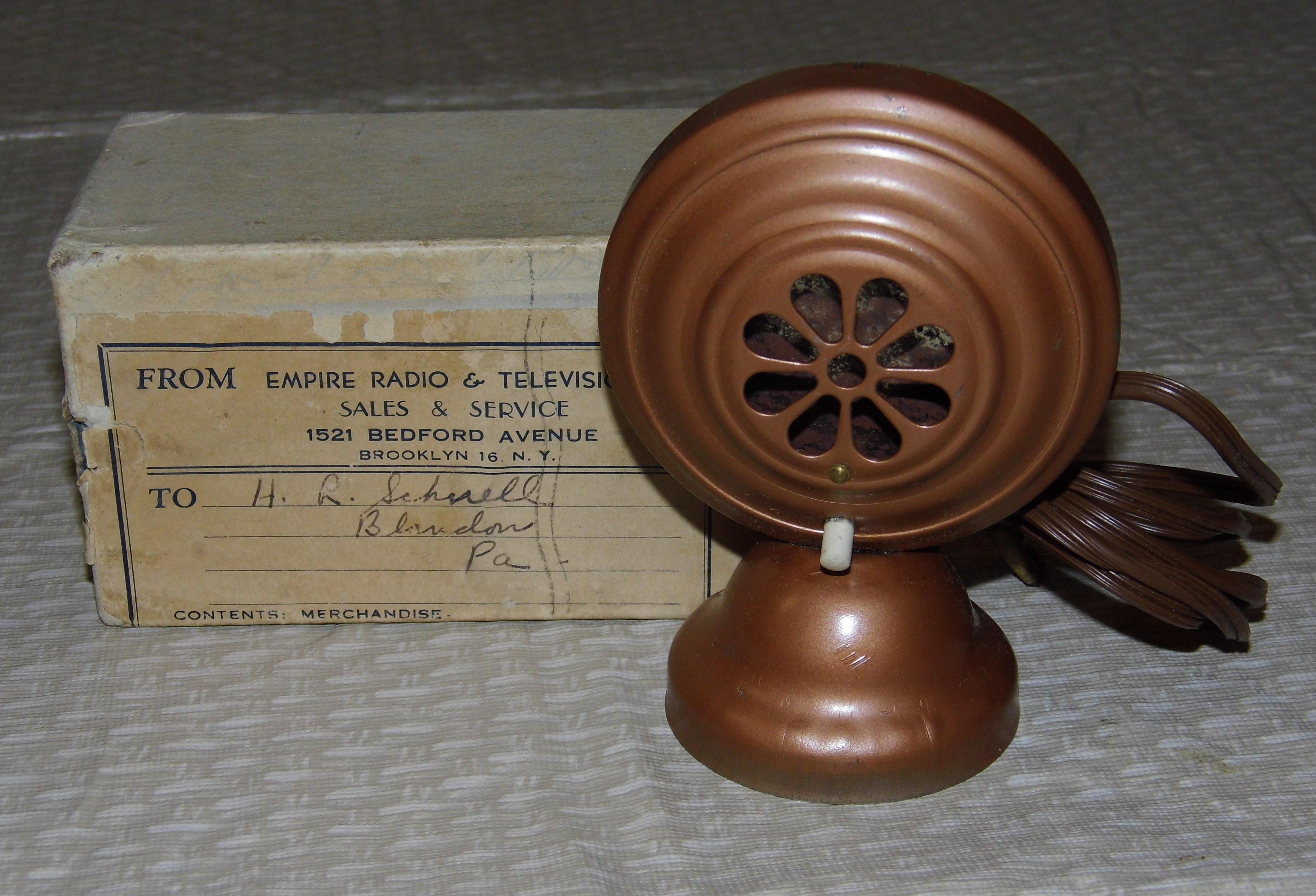 Empire vintage radio
