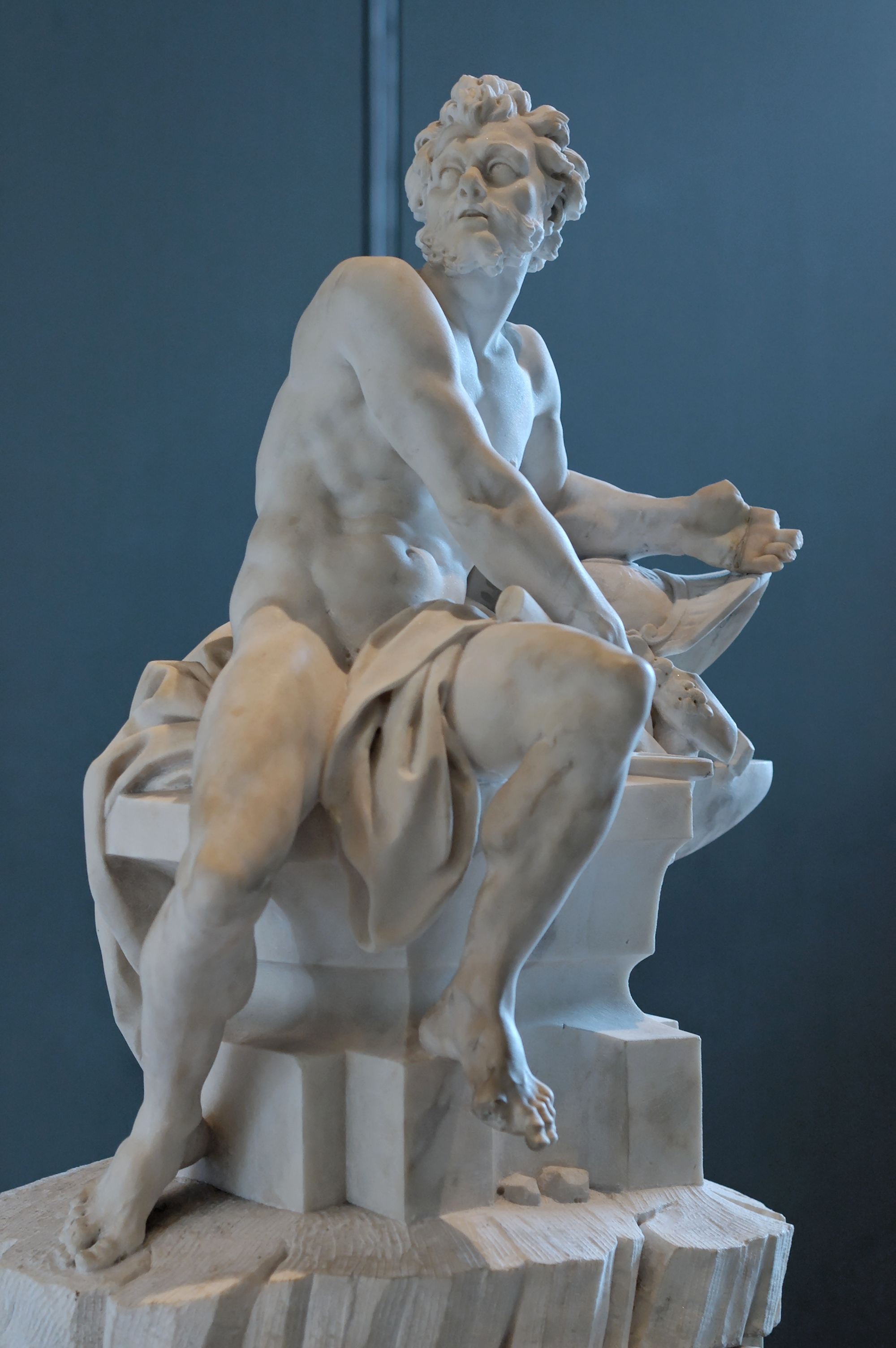 An image of Vulcan, the Roman equivalent of Hephaestus.