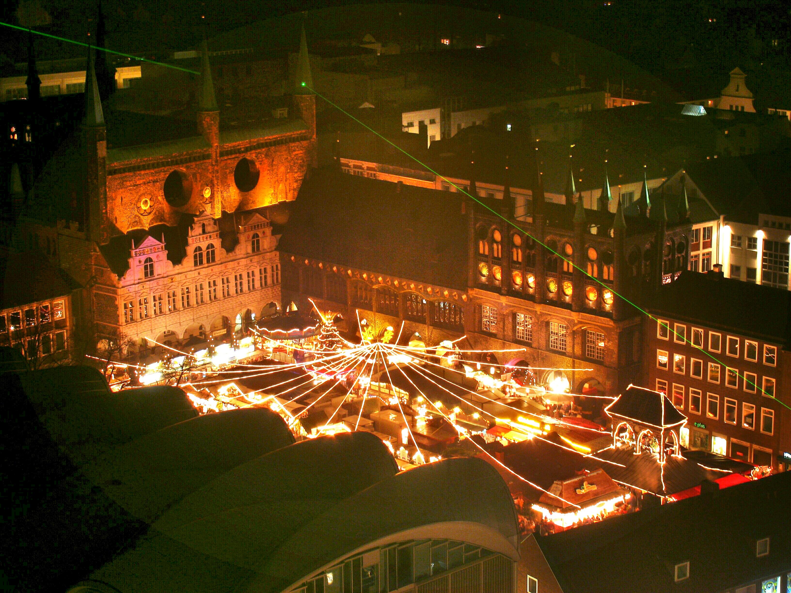 Wo Ist Heute Ein Weihnachtsmarkt.Lübecker Weihnachtsmarkt Wikipedia