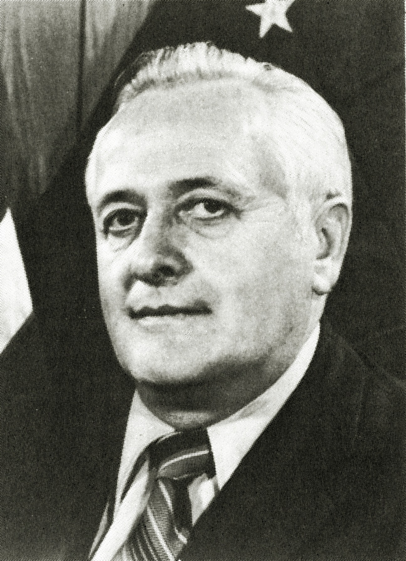 Bill Egan during his third term as governor