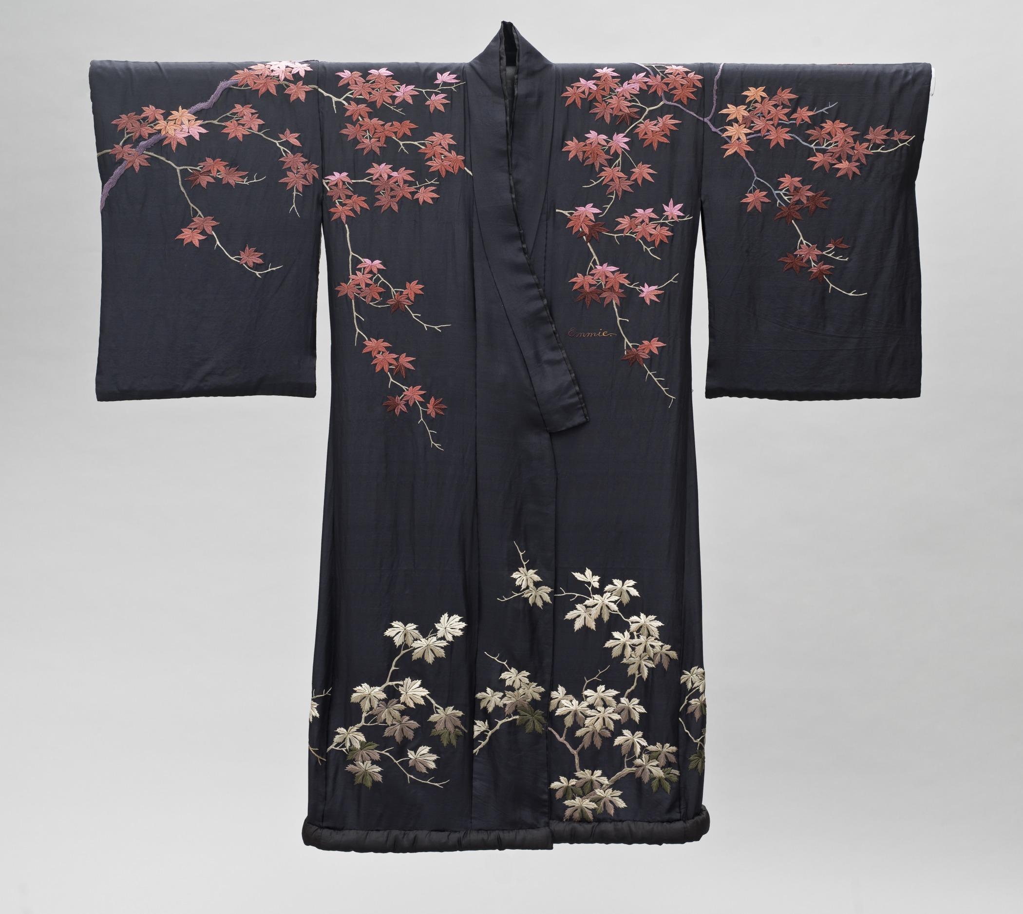 File:Woman\'s Kimono-Style Dressing Gown with Sash LACMA M.2007.211 ...