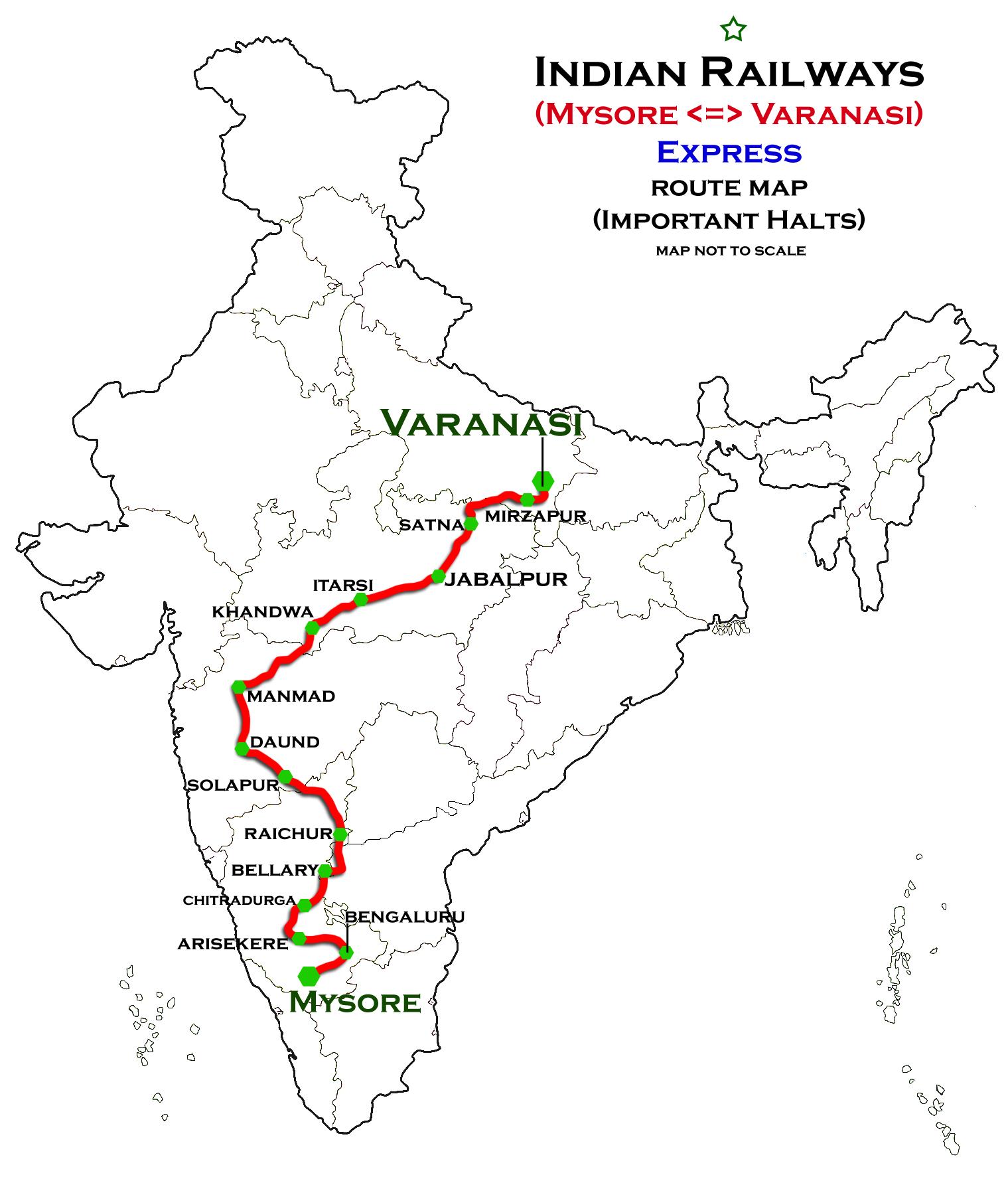 Mysore - Varanasi Express - Wikipedia