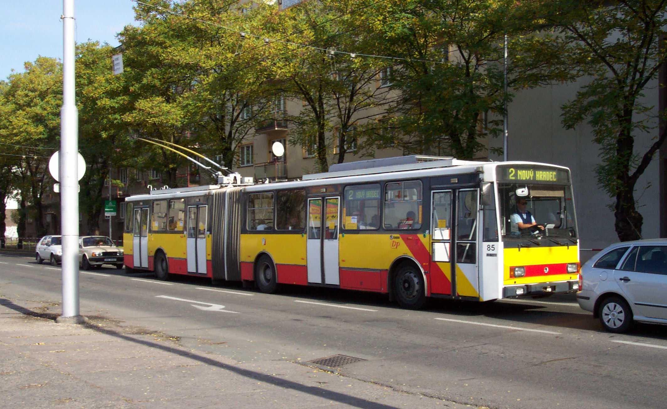 троллейбусов skoda 14trm и skoda 15trm