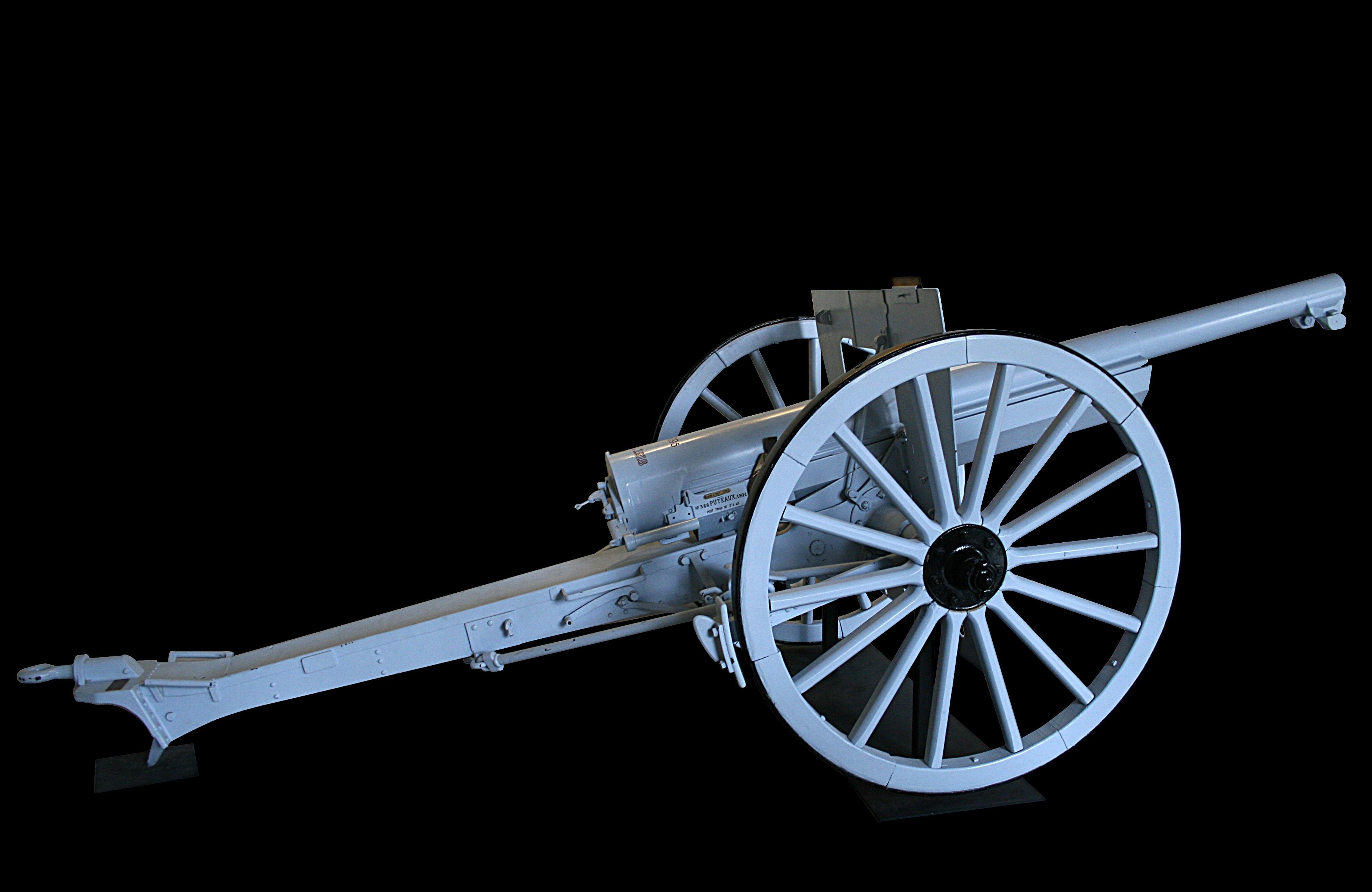 Atlas lead soldier ww1-wwi 75 mm canon