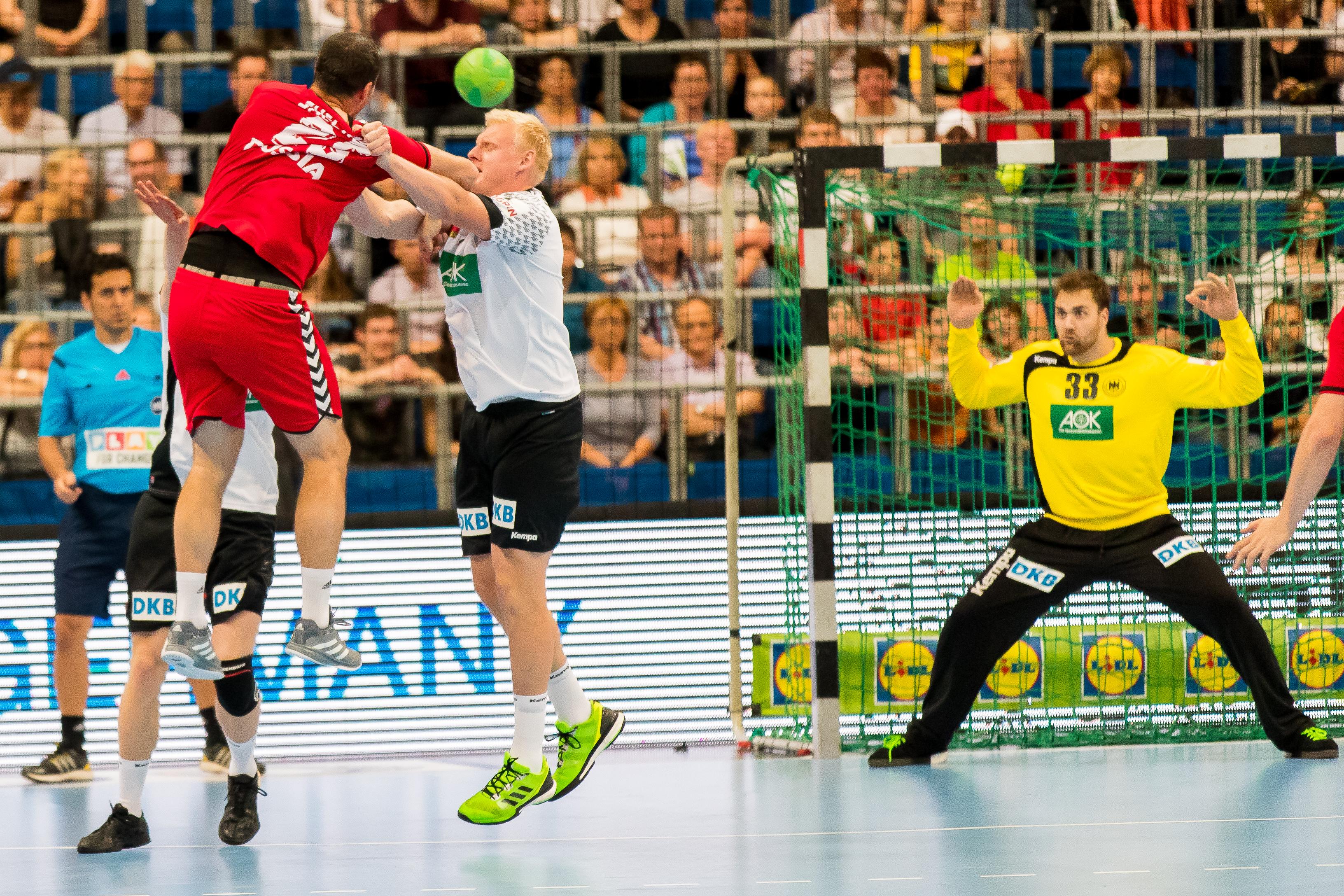 handball deutschland russland live