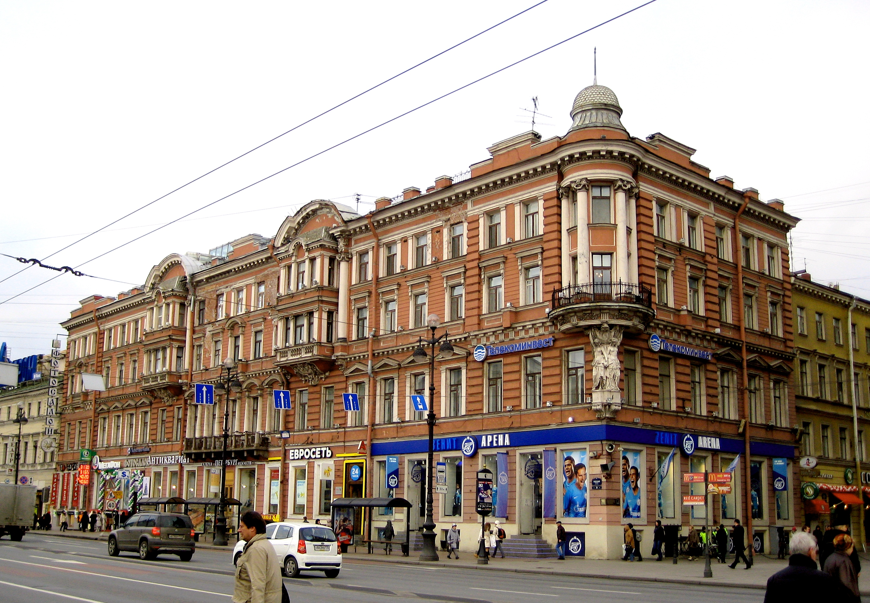 N.V.Gogol. Nevsky Prospect. Summary 55