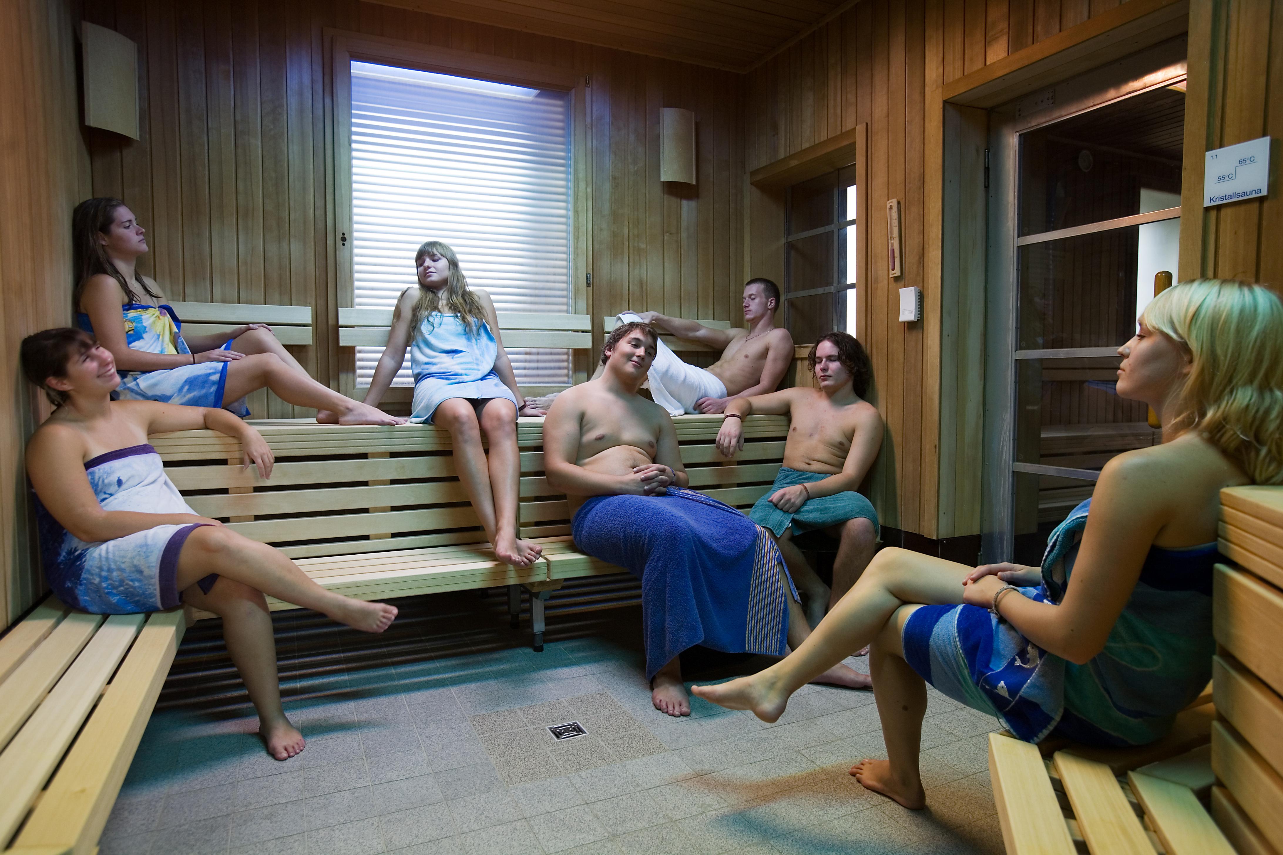 В бане общественной фото
