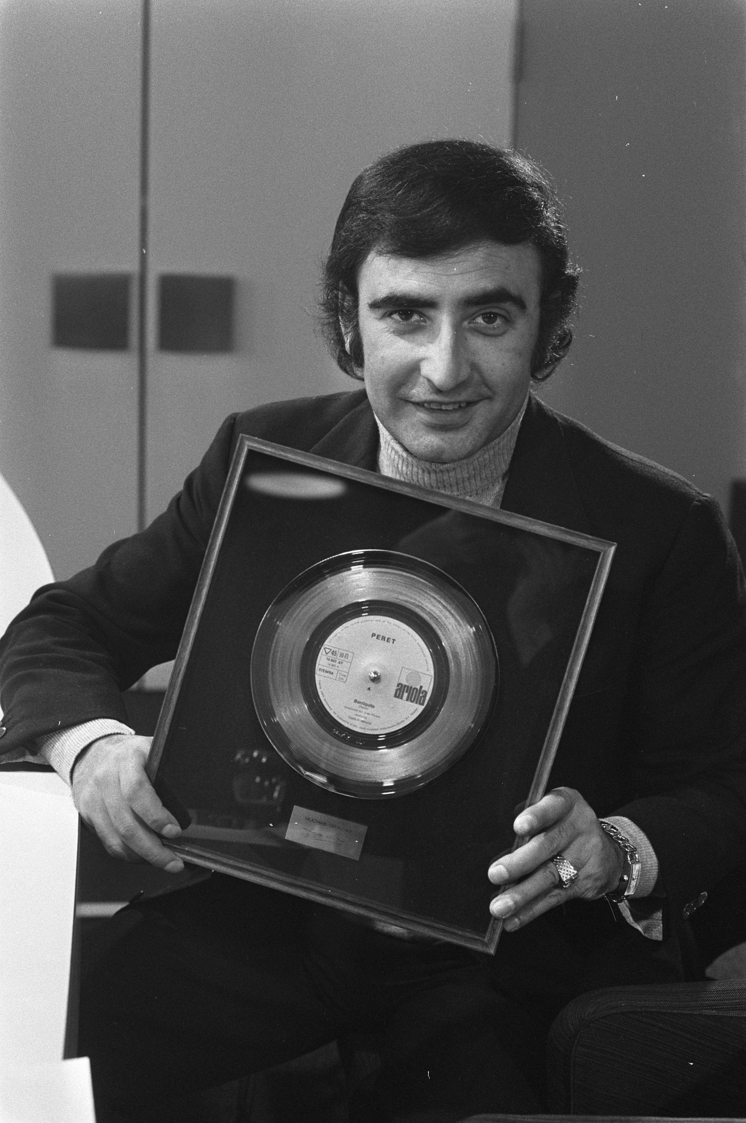 Peret en 1971.