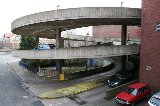 File:Access Ramp to Castlegate Car Park - geograph.org.uk - 366955 ...