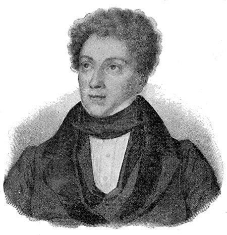 الکساندر دوما ، کشیده شده توسط Antoine Maurin