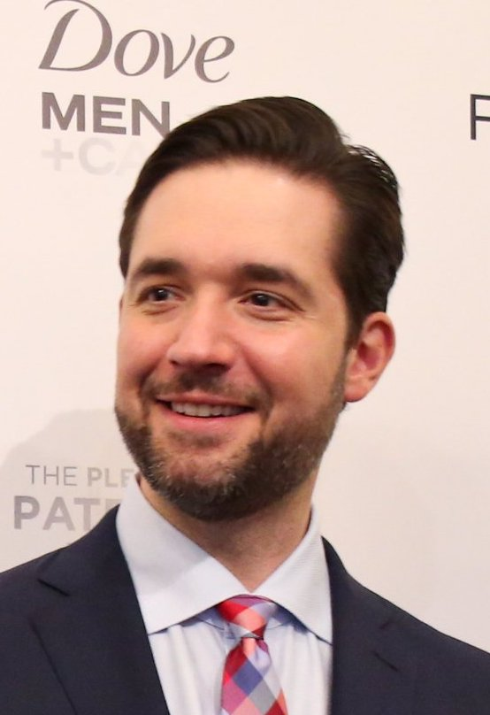 Ohanian at a paid family leave event in 2019