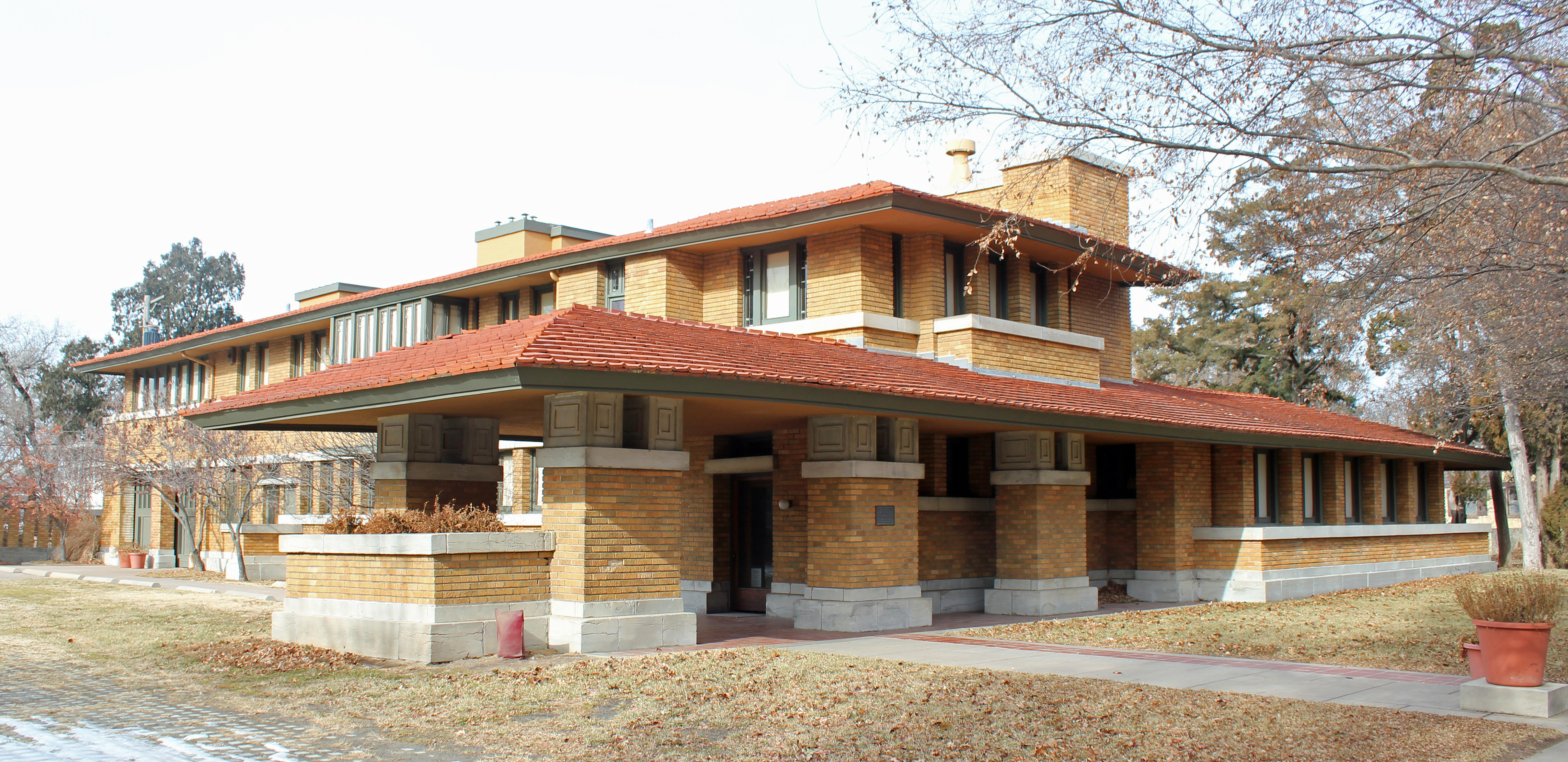 Allen-Lambe House, in Wichita (Kansas) von Frank Lloyd Wright