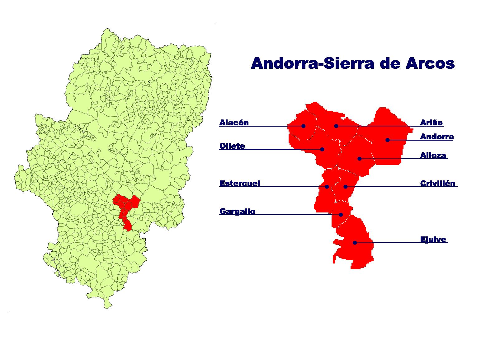 Depiction of Andorra-Sierra de Arcos