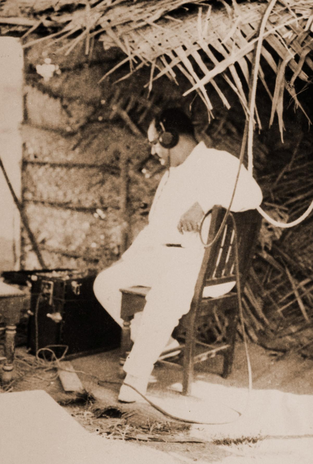 Director, Ardeshir Irani recording, Alam Ara f...